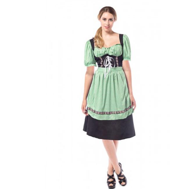 2f453612280 dirndl jurk hannah lang groen