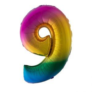 cijfer en letter folie ballonnen